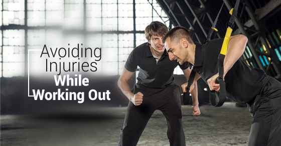 Avoiding Injuries While Working Out